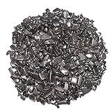 Hämatit 200 Gramm mini Edelsteine Trommelsteine Entlade Steine Größe ca. 4 - 8 mm.(3987)