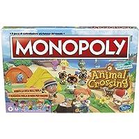 Hasbro Monopoly edizione Animal Crossing New Horizons, divertente gioco da tavolo per bambini dagli 8 anni in su, da 2 a…