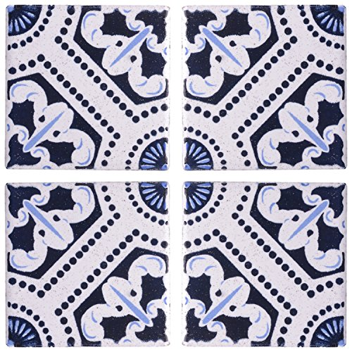SCPL Printed Tiles (50 mm x 50 mm, Blue)