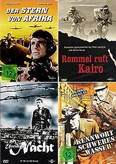 History Collection   Rommel ruft Kairo + Unruhige Nacht + Der Stern von Afrika + Kennwort: Schweres Wasser [4-DVD]