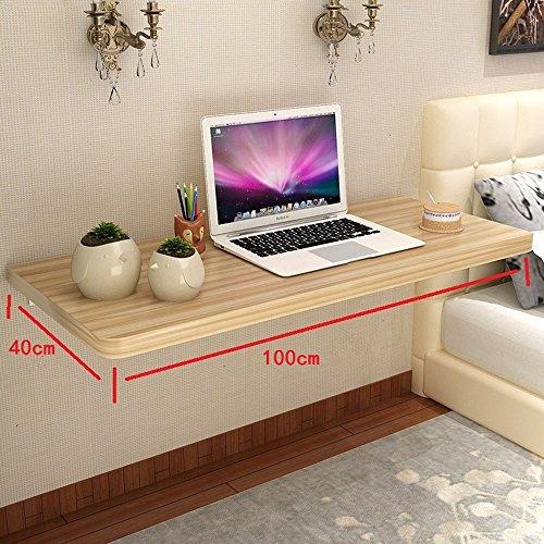 Melamin-klapptisch (Klapptisch YNN Wand Tisch Haushalt Holz Esstisch Tisch Tisch Computer Schreibtisch (größe : 100cm))