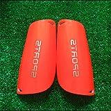 Bluelover Parastinchi Da Shin Professionale Per Footall Luce Targa Morbida Schiuma Sport Gamba Guardia - Orange
