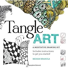 Tangle Art: A Meditative Drawing Kit: Includes archival pens, paper tiles, and a beautiful instruction book to get you started! by Beckah Krahula (2013-10-01)