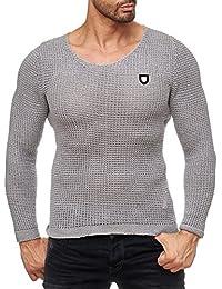 Redbridge - Pull - Slim - Uni - Manches Longues - Homme
