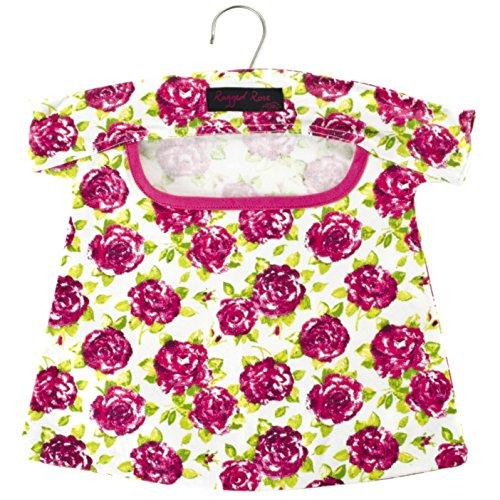 Ragged Rose Sac à pinces à linge en coton de la gamme Peggy, Blanc