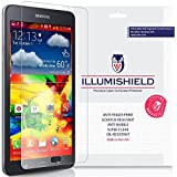 Samsung Galaxy Tab A 7.0 Screen Protector [3-Pack], iLLumiShield - Japanese Ultra Clear HD Film with Anti-Bubble and Anti-Fingerprint - High Quality Invisible Shield - Lifetime Warranty