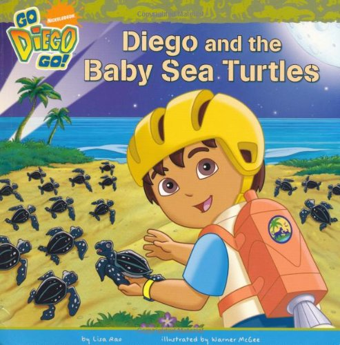 Diego and the baby sea turtles.