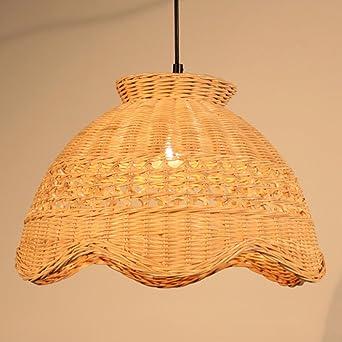 Rattan chandelier straw hat rattan weaving lights rattan chinese 61fwxbzlyclsx342g aloadofball Images