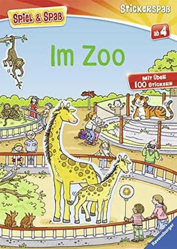 Im Zoo (Spiel & Spaß - Stickerspaß)