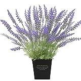 pu ran 1Bouquet 15Köpfe Künstlicher Lavendel Simulation Blume Home Hochzeit Dekoration