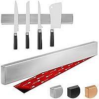 Thingles Barre à Couteaux aimantée de 40 cm I Porte-Couteaux Magnetique I Bandeau magnetique de Suspension pour Couteaux…