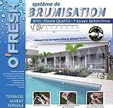 O'Fresh 063 - Nebulizzatore da terrazzo con 7 ugelli, 10 m - Fresh O2 - amazon.it