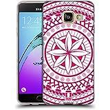 Head Case Designs Fleur Motifs Polynésiens Étui Coque en Gel molle pour Samsung Galaxy A3 (2016)