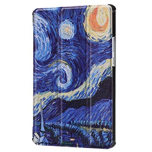 Lobwerk Tablet Hülle für Huawei MediaPad M5 8.4 Zoll Schutzhülle Smart Cover mit Auto Sleep/Wake, Standfunktion und Touchpen