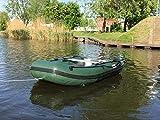 Bootshop24 Schlauchboot 300 dunkelgrün
