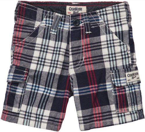 OSHKOSH B'gosh Shorts kurze Hose Kariert Junge boy pant Winter Baby (0-24 Monate) (Oshkosh Kinder-shorts)