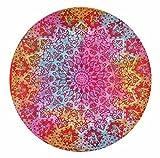 Gemsandcraft Mandala Tie Dye étoile Ombre Tapis de Yoga, Housse de Table, à...