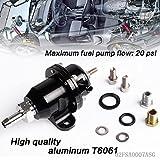 speedmotor réglable carburant Pression Régulateur pour Honda Acura B-Series moteurs broches B18C fumé Gris
