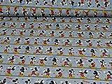 Disney Jersey Micky Maus Öko-Tex Standard 100, grau (25cm