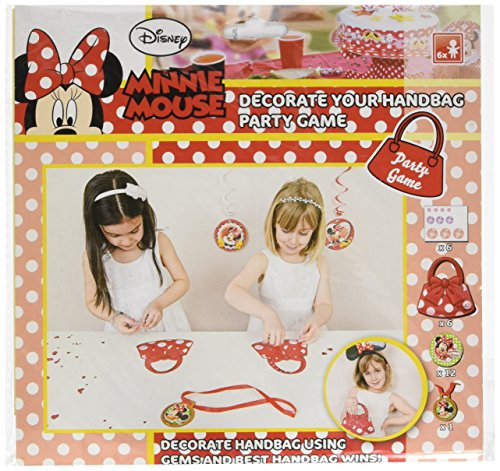 Amscan International Minnie Maus Handtasche zum Dekorieren