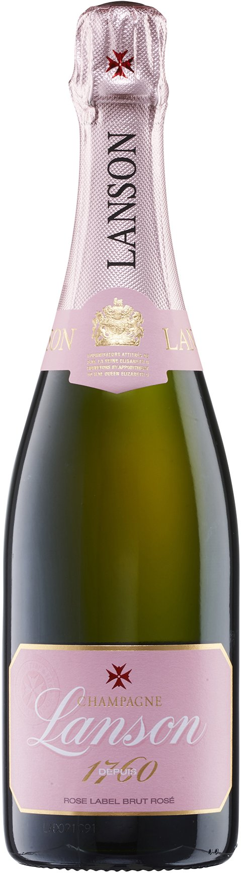 Lanson Rose Label Champagne Non Vintage, 75 cl