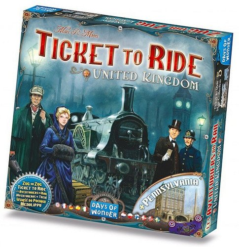 Edge 599386031 - ¡aventureros al tren! reino unido y pensilvania