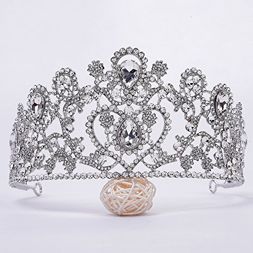 Olici Bridal Wedding Headwear/Prom Hair Pins/Headdress Accessories/Party/Girls  The Luxury Water Drills Wedding Dress Accessories The Clamp