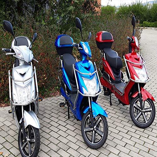 Squalo BICICLO Elettrico Bicicletta ELETTRICA MOTORINO Scooter Elettrico Batteria A Litio 250 Watt Color Rosso No PATENTE No ASSICURAZIONE No Bollo No Casco
