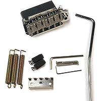 Musiclily Pro 54mm 2 Pivot Ponte Tremolo con Selle in Acciaio Inossidabile Blocco Completo Acciaio per Chitarra…