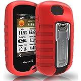 TUSITA Hülle für Garmin Oregon 600 600t 650 650t 700 750 750t - Schutzhülle aus Silikon - Handheld GPS Zubehör