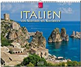 ITALIEN - Von Südtirol bis Kalabrien: Original Stürtz-Kalender 2018 - Großformat-Kalender 60 x 48 cm -