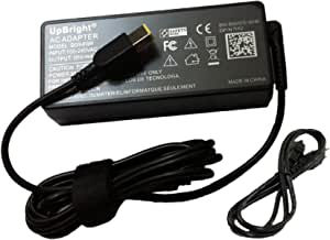 UpBright 20V 4.5A AC//DC Adapter Compatible with Lenovo ThinkPad USB-C Dock DK1633 03X7194 40A90090US IdeaCentre 510s F0C3005SUS F0C30010US F0C00031US 520S 23IKU F0CU000NUS F0CU0001US F0CU0003US AIO PC