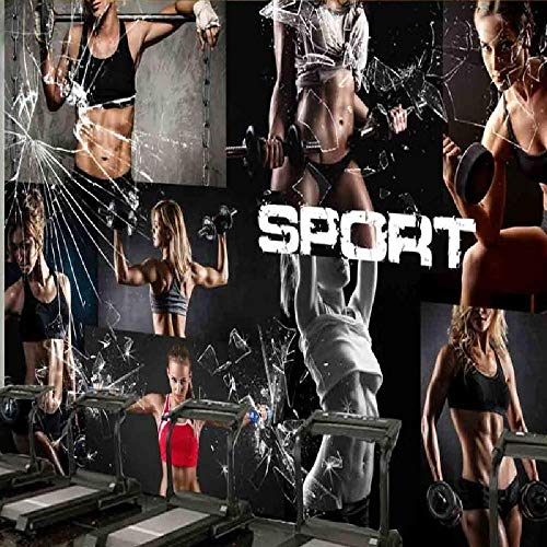 Fototapete Kreative Sexy Beauty Gym Foto Hintergrund Fototapete Boxing Room Casino Fitness Place Wallpaper-200×140CM