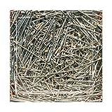 bastelkoerble® Pailletten - Stecknadeln 18 mm - 50gr. siberfarben basteln