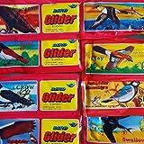 12 x aeroplani a forma di uccello in polistirolo, 20 cm, giocattolo, regalo di compleanno