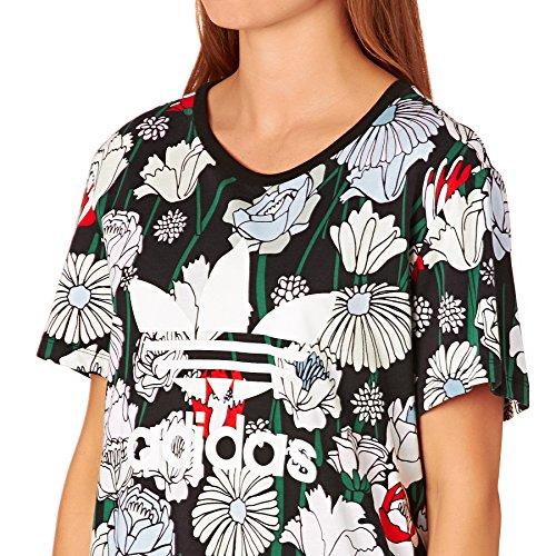 Adidas trefoil Boyfriend Femme T-shirt multicolore