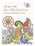 Idena 68135 - Malbuch für Erwachsene, Motiv Meditation, 64 Seiten