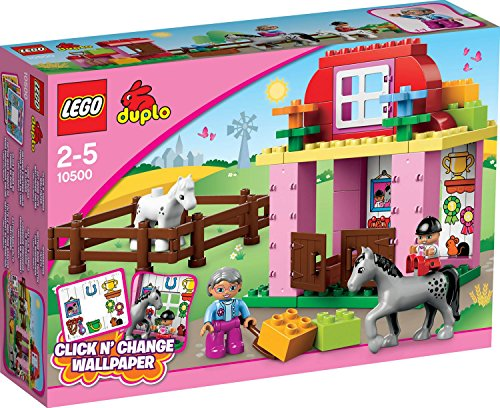 Lego-10500-Duplo-Horse-stable