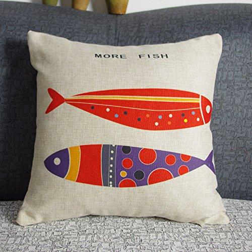 luxbon-funda-cojin-almohada-lino-duradero-pez-rojo-more-fish-decoracion-para-sofa-cama-coche-18x18-4