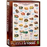 Eurographics Turtles and Tortoises Puzzle (1000 Pieces)