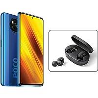 """Xiaomi Poco X3 NFC Smartphone RAM 6GB ROM 64GB 6,67""""FHD+ LCD DotDisplay Hochleistungsbatterie mit 5160 mAh (typ) Blau…"""