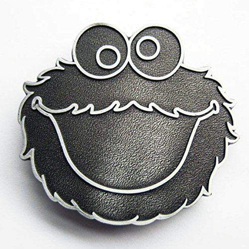 Fibbia Cookie Monster, Sesame Street - Fibbia
