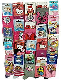 Disney socks Pack de chaussettes Licence fantaisies assorties - Assortiment selon arrivages-