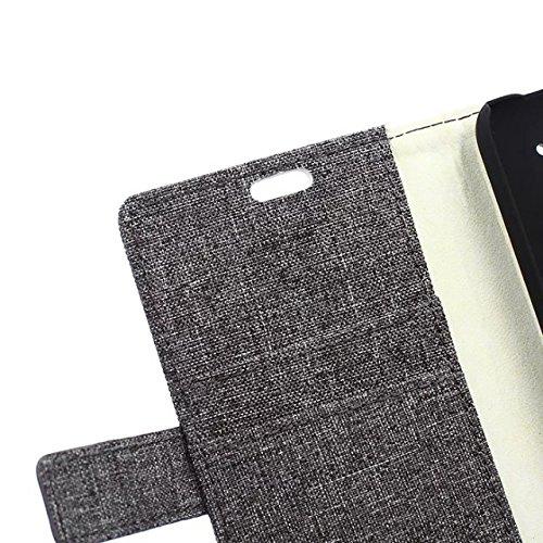 EKINHUI Case Cover Huawei Y360 Fall reines Folio magnetische Design Flip Brieftasche Stil Fall Farbmuster PU-Leder-Abdeckung Standup-Abdeckungsfall für Huawei Y360 ( Color : 2 , Size : Y360 ) 3