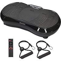 Navaris Vibrationsplatte Ganzkörper Sportgerät - Vibration Shaper Platte Fitness Training Bauch Beine Po - Sport Gerät…