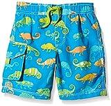 Hatley Boy's Crazy Chameleons Board Swim Shorts, Multicoloured (Blue), 5 Years Bild