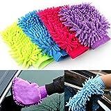 #7: Krevia Micro Fiber Super Mitt Hand Glove Duster for Car / Office / Home