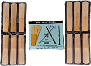 Bb Clarinet Reeds,Made Of Superior And Kasmiri Cane,One Doz