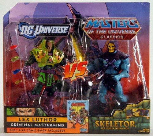 DC Universe & Masters del Universo Classics exclusivo 2Pack Skeletor vs. Lex Luthor