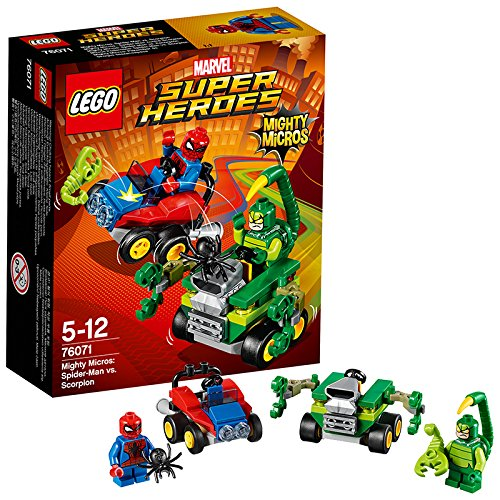 LEGO - 76071 - Marvel Super Heroes - Mighty Micros : Spider-man Contre Scorpion